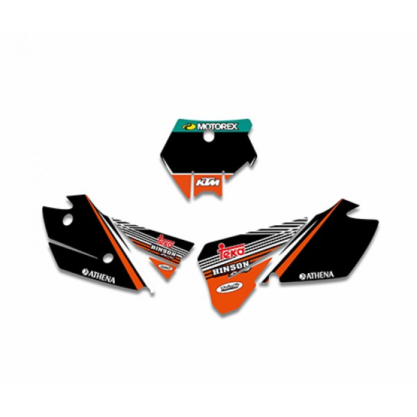 red bull graphics decals kit for ktm sx