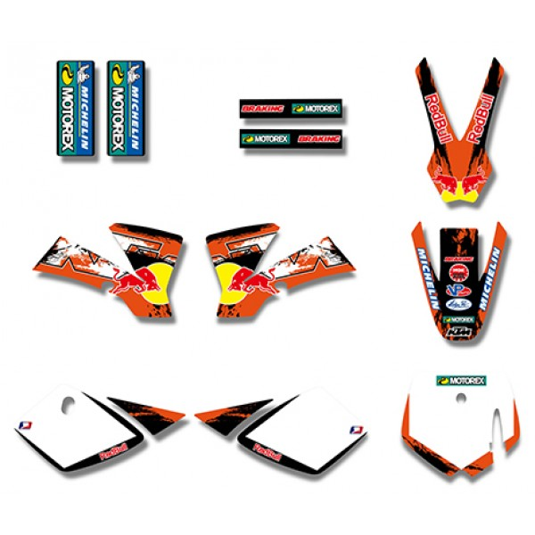 bull graphics decals kit for ktm sx50 50cc 50 50sx for ktm50 2002