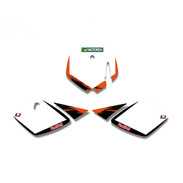 Red Bull GRAPHICS DECALS Kit For KTM SX50 50CC 50 50SX FOR KTM50